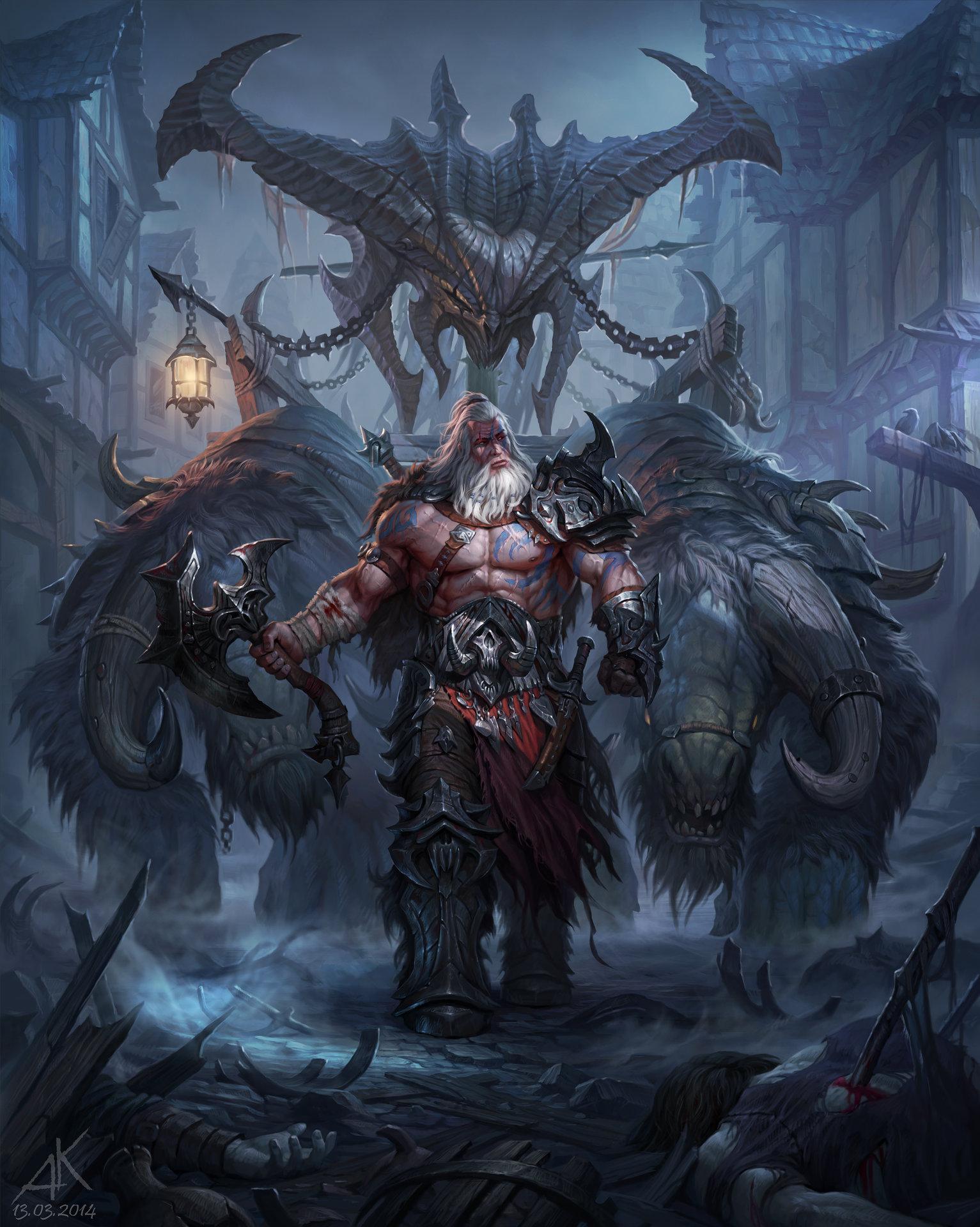 Artstation - Evil Andrew Kuzinskiy