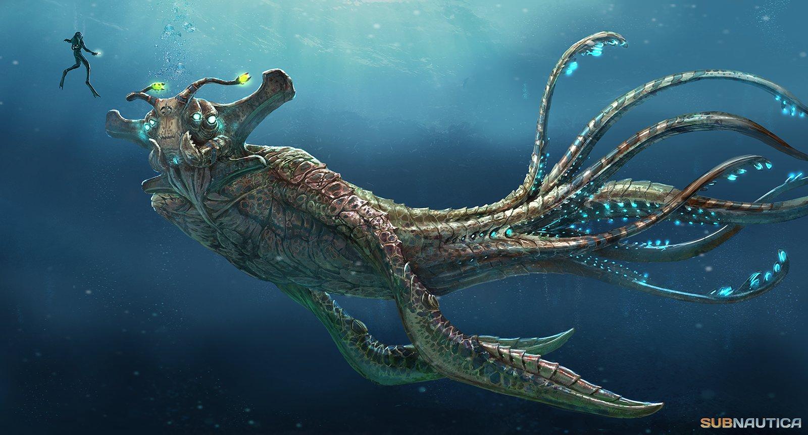 artstation subnautica sea emperor