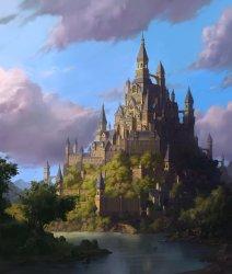 ArtStation The castle whinbek [휜백]