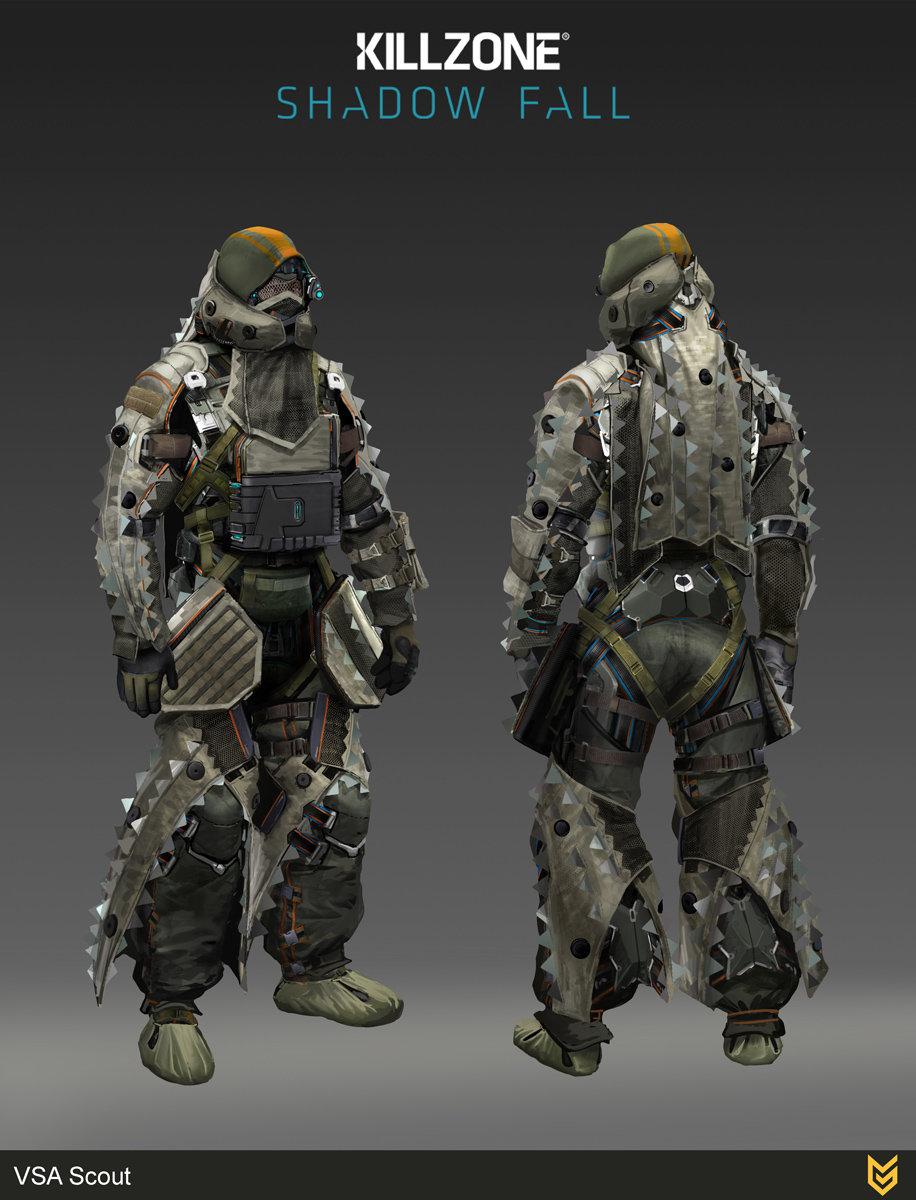 Killzone Shadow Fall Wallpaper 1080p Artstation Vsa Scout Ilya Golitsyn