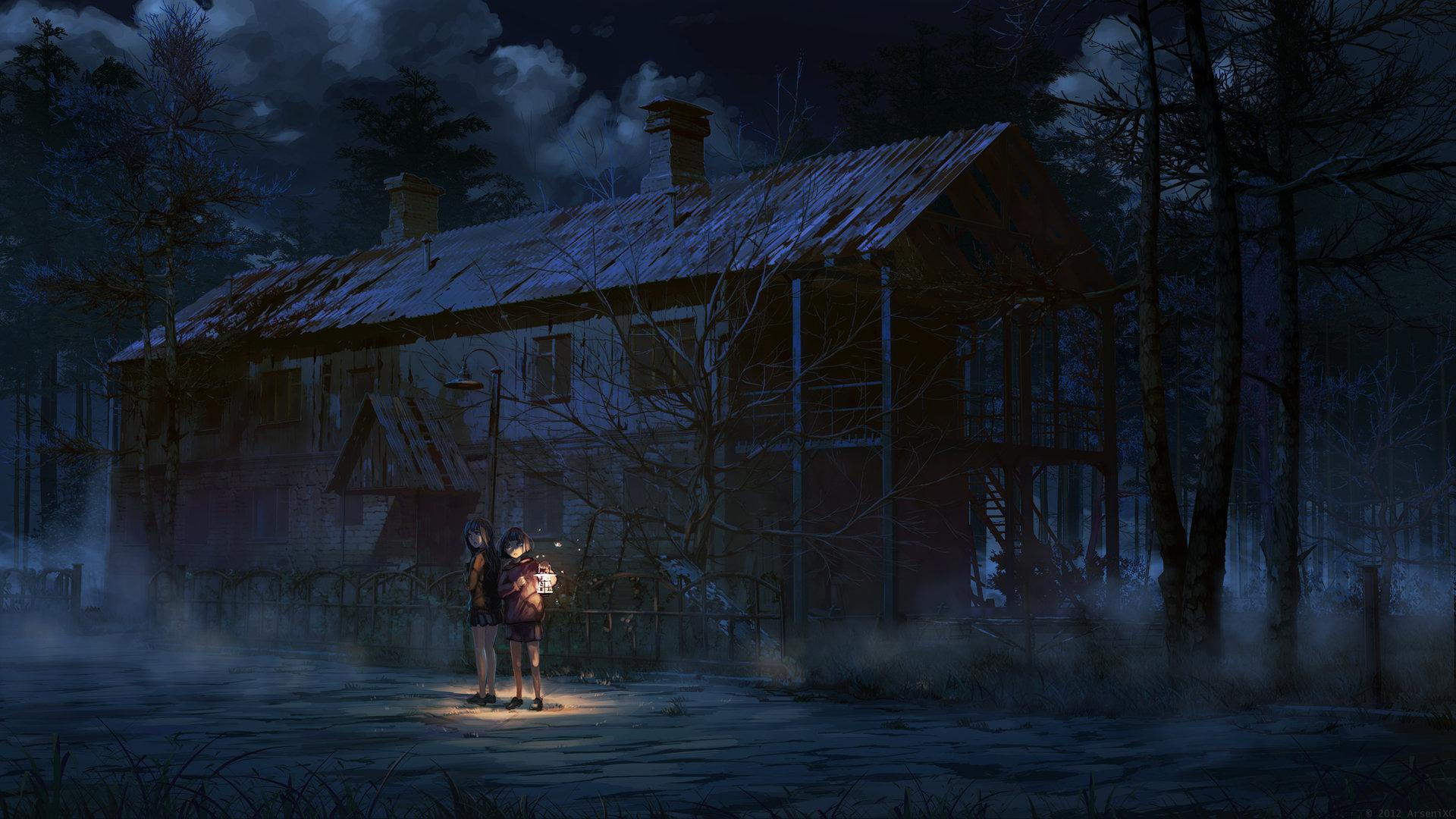 Artstation - Scary House Arseniy Chebynkin