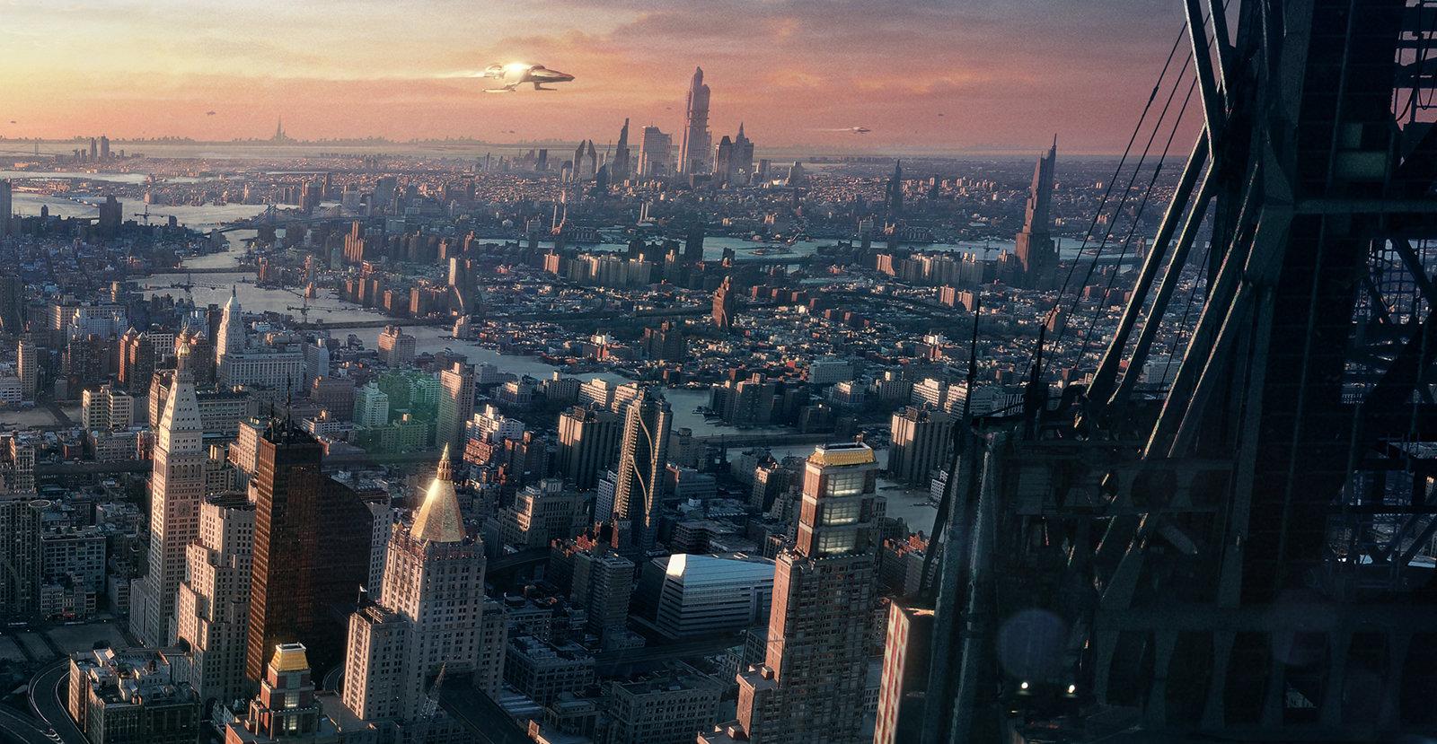 Nikolay Razuev - The near future city