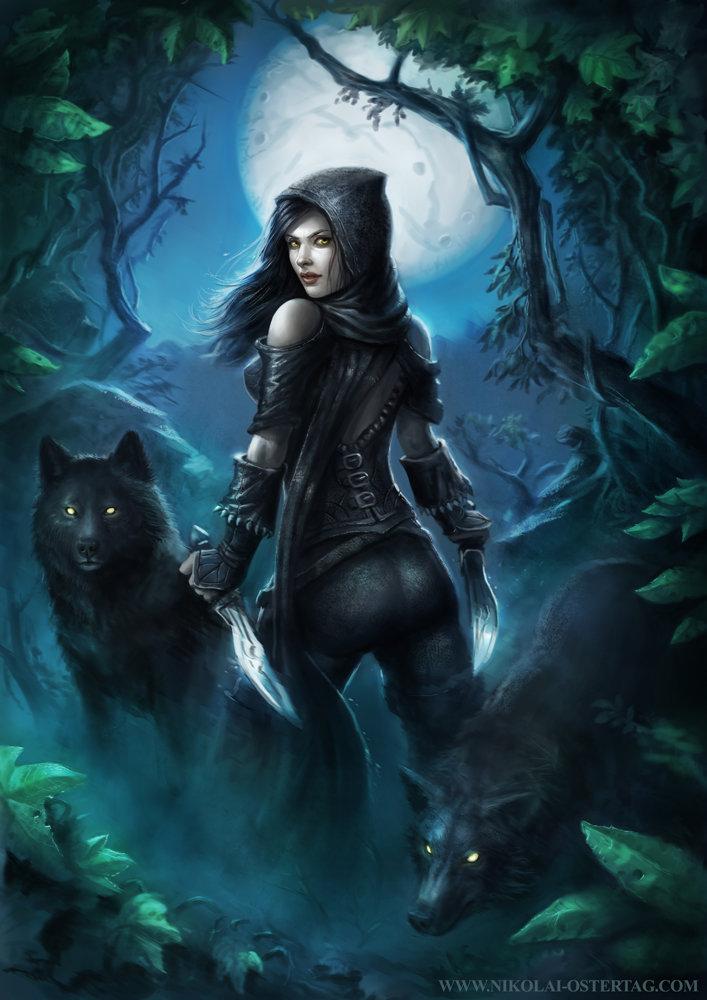 Wolf Girl & Black Prince : black, prince, Nikolai, Ostertag, Forest