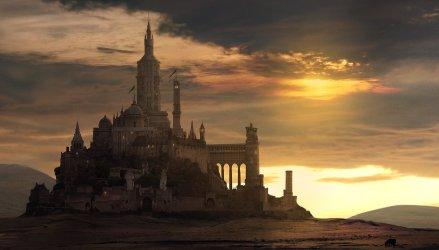 fantasy castle johnstone george artstation artwork concepts artly fortified