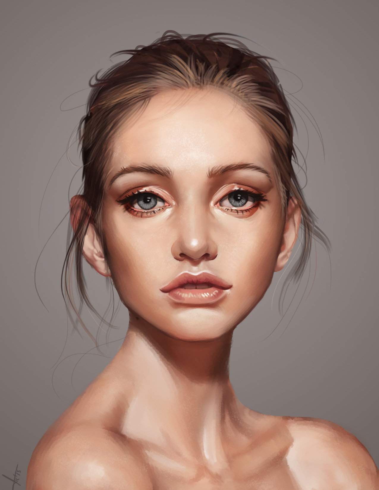Artstation - Beautiful Face Victor Lozada