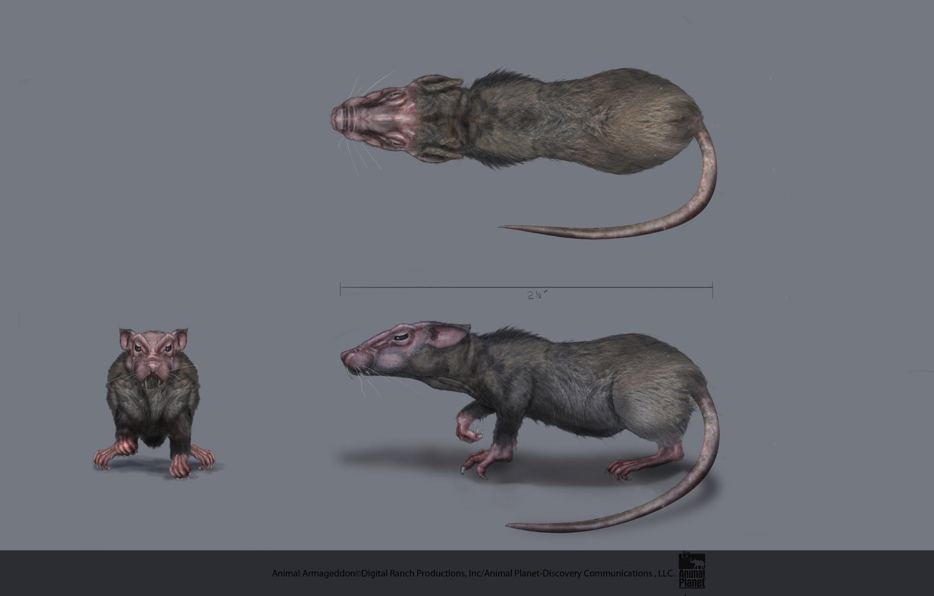 Brian Ulrich  Creature Concept Art