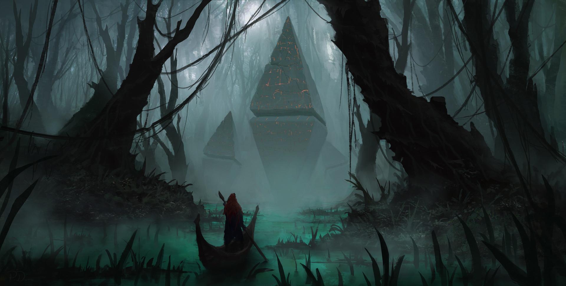 Artstation - Swamp Relics Piotr Dura