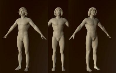 Daniel Bohrer // Art Direction & 3D Works - MET - The Return, Tullio Lombardo's Adam