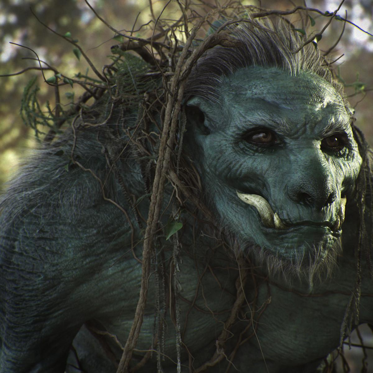 Artstation - Swamp Creature Alessandro Baldasseroni