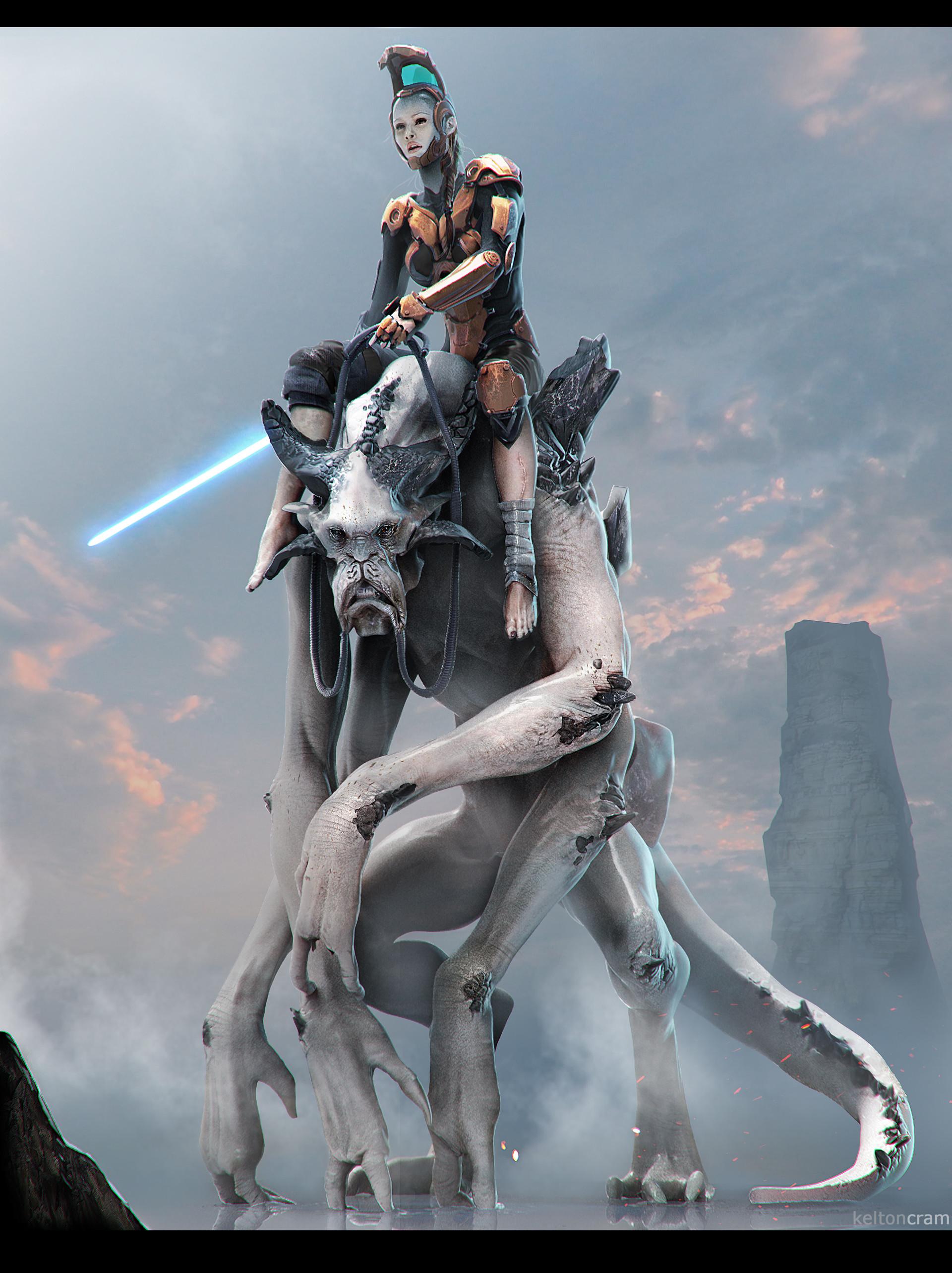 Kelton Cram - Injured Jedi Knight