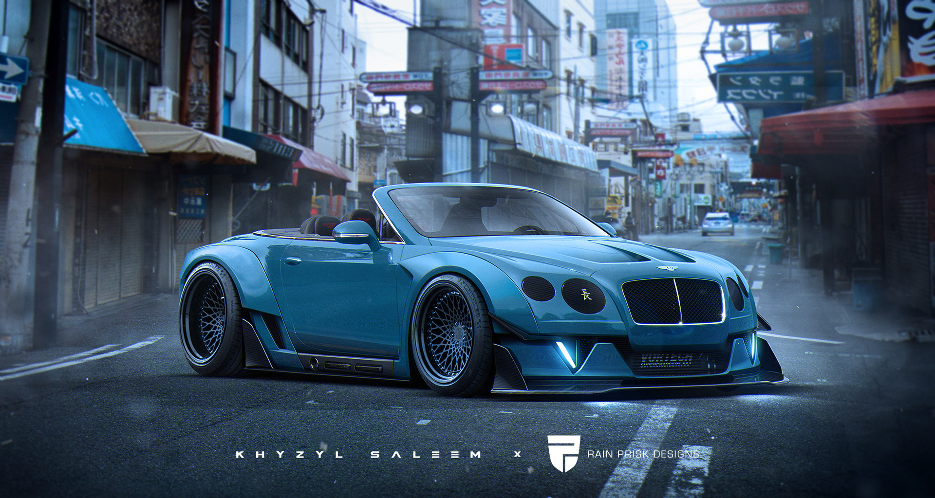 Need For Speed Girl Wallpaper Artstation Bentley Continental Gt Collab With Khyzyl