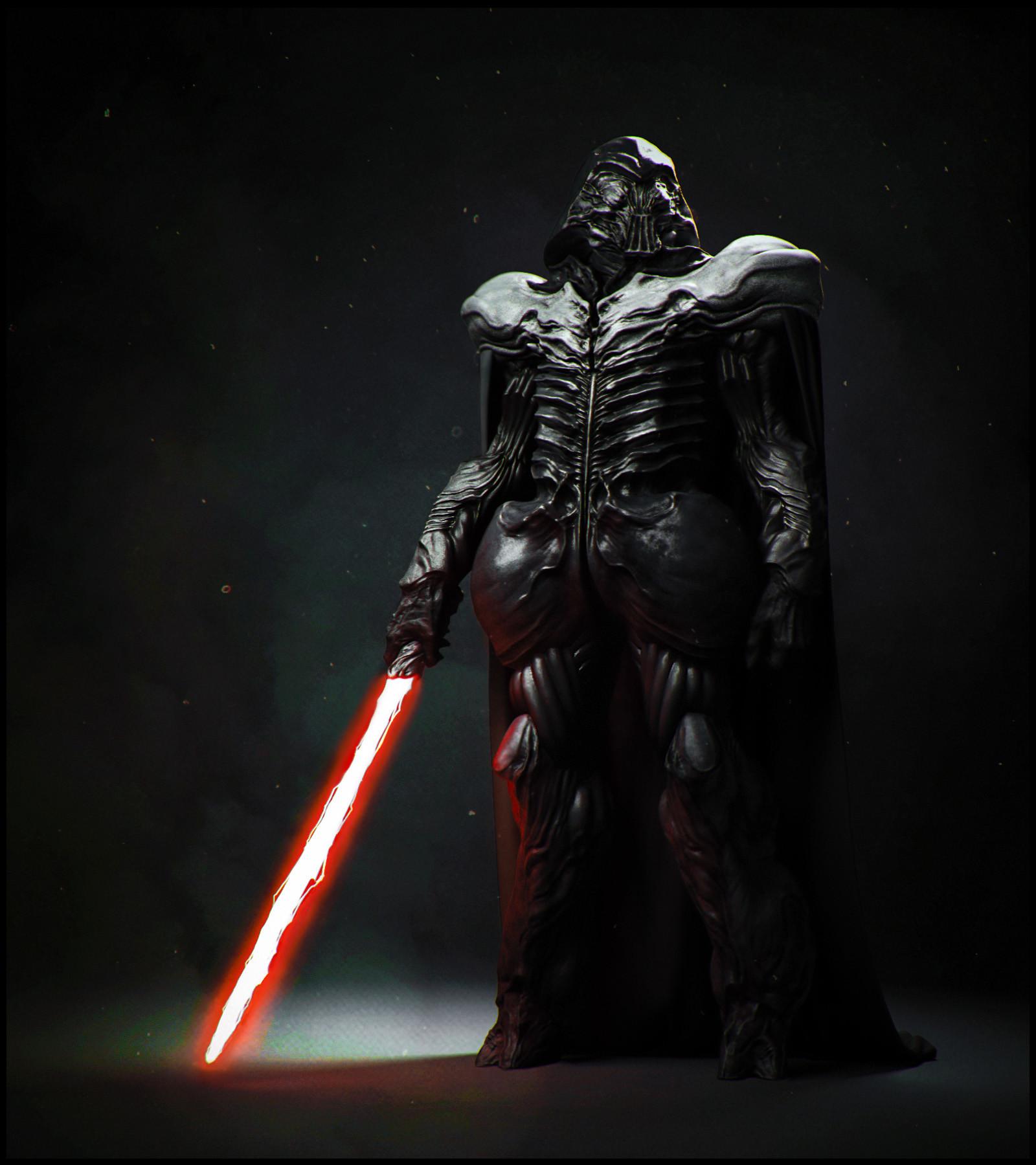 Star Wars Darth Vader Concept Art