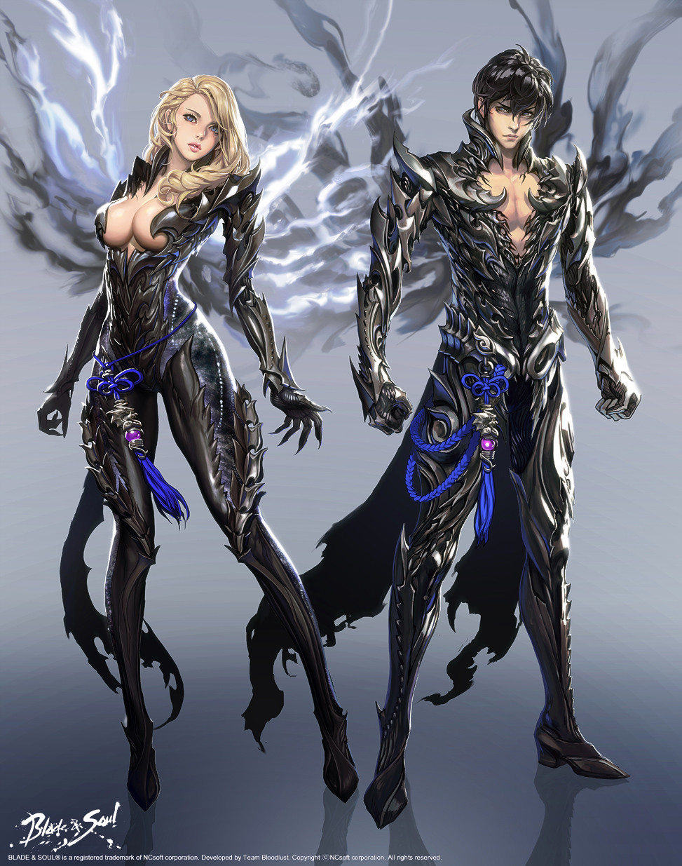 Blade and Soul Concept Art Character