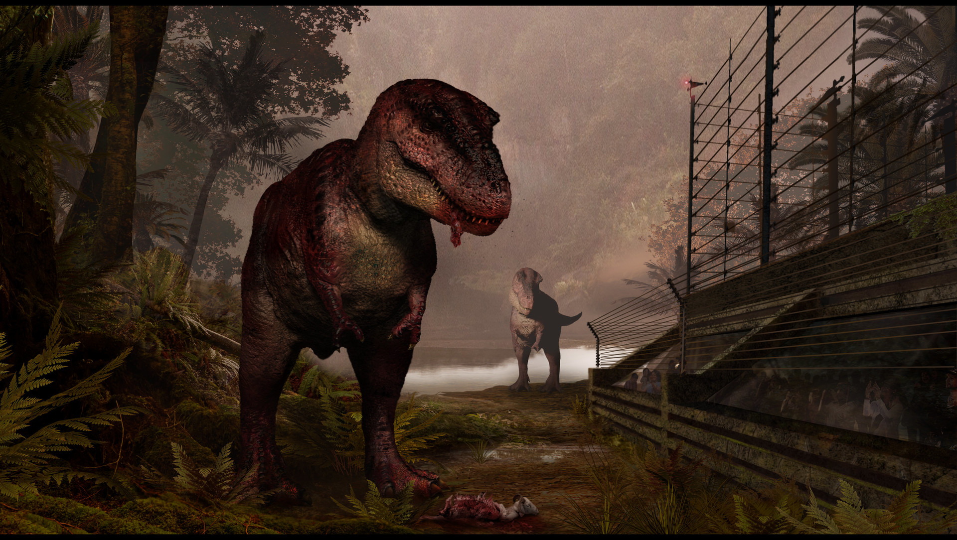 Joshua Dunlop Dinosaur Art
