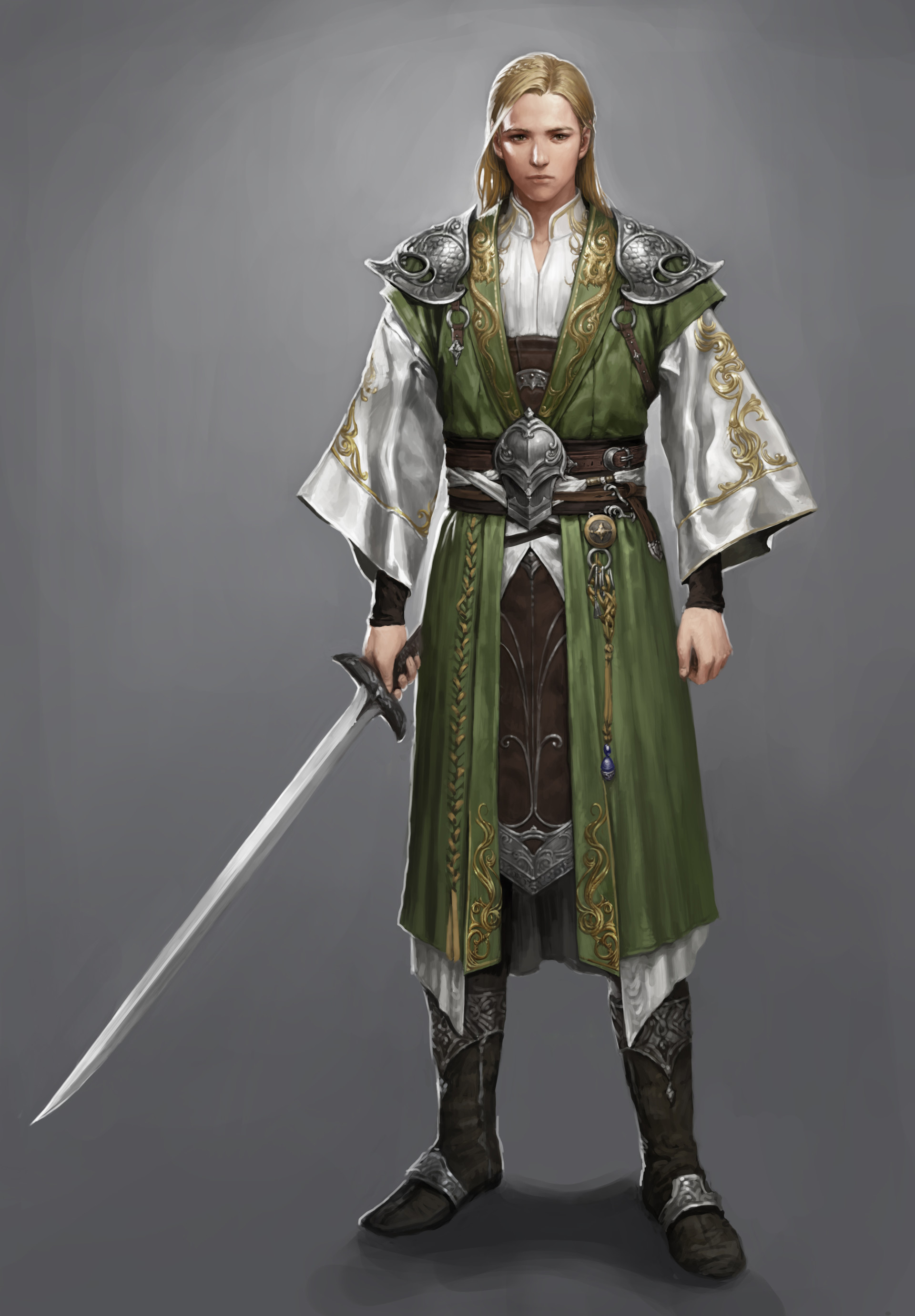 Shani Name 3d Wallpaper Artstation Elf Knight Jiyeon Ryu