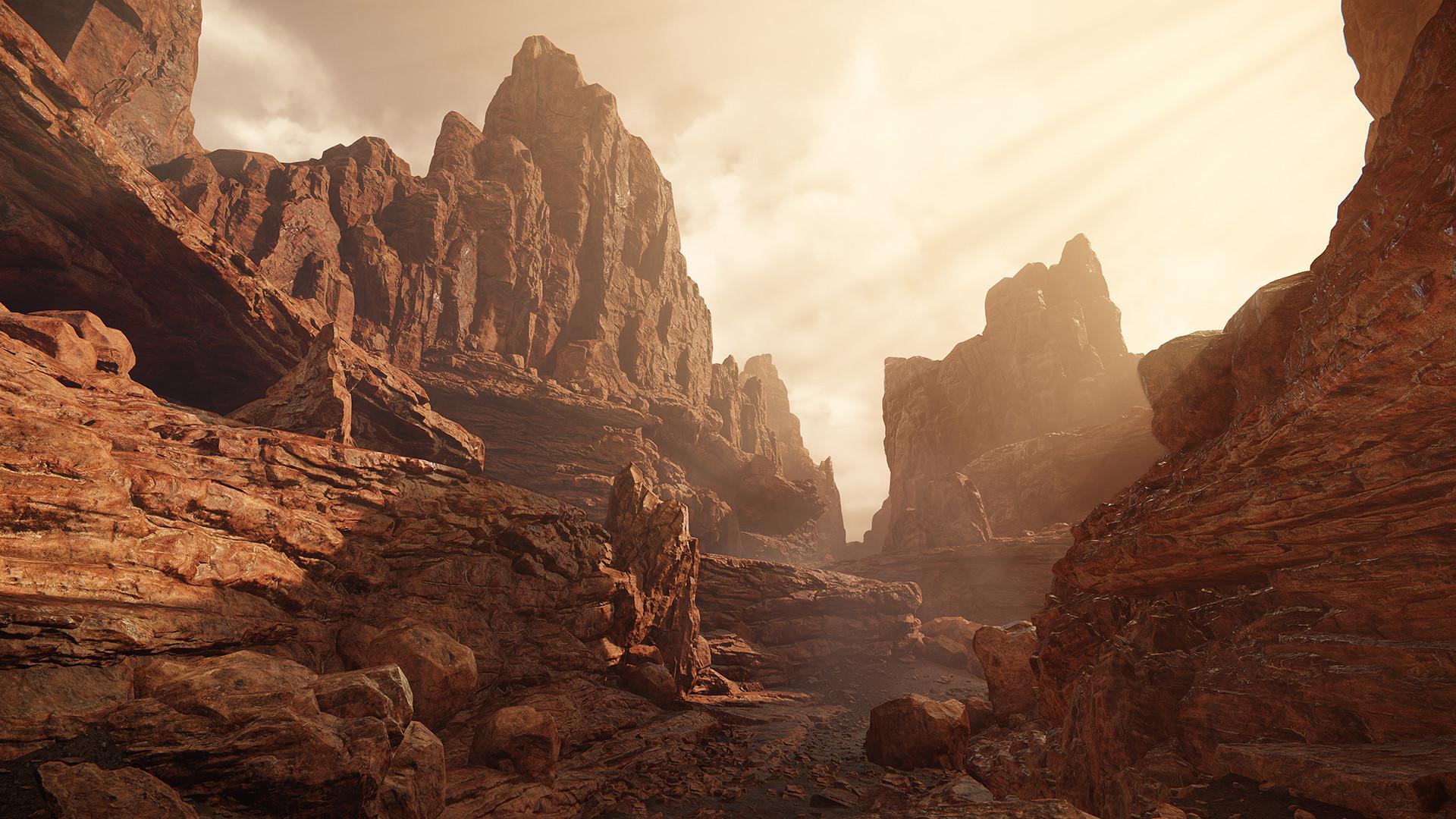 Artstation - Cryengine 3 Wasteland Rocks Pack Walid