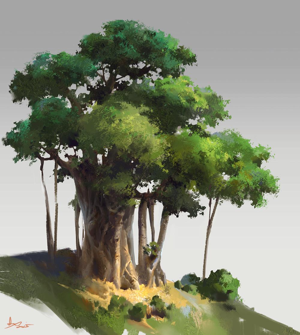 Artstation - Practice Of Tree Ling Xiang