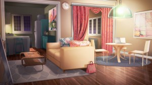 night livingroom background apartment character rie final