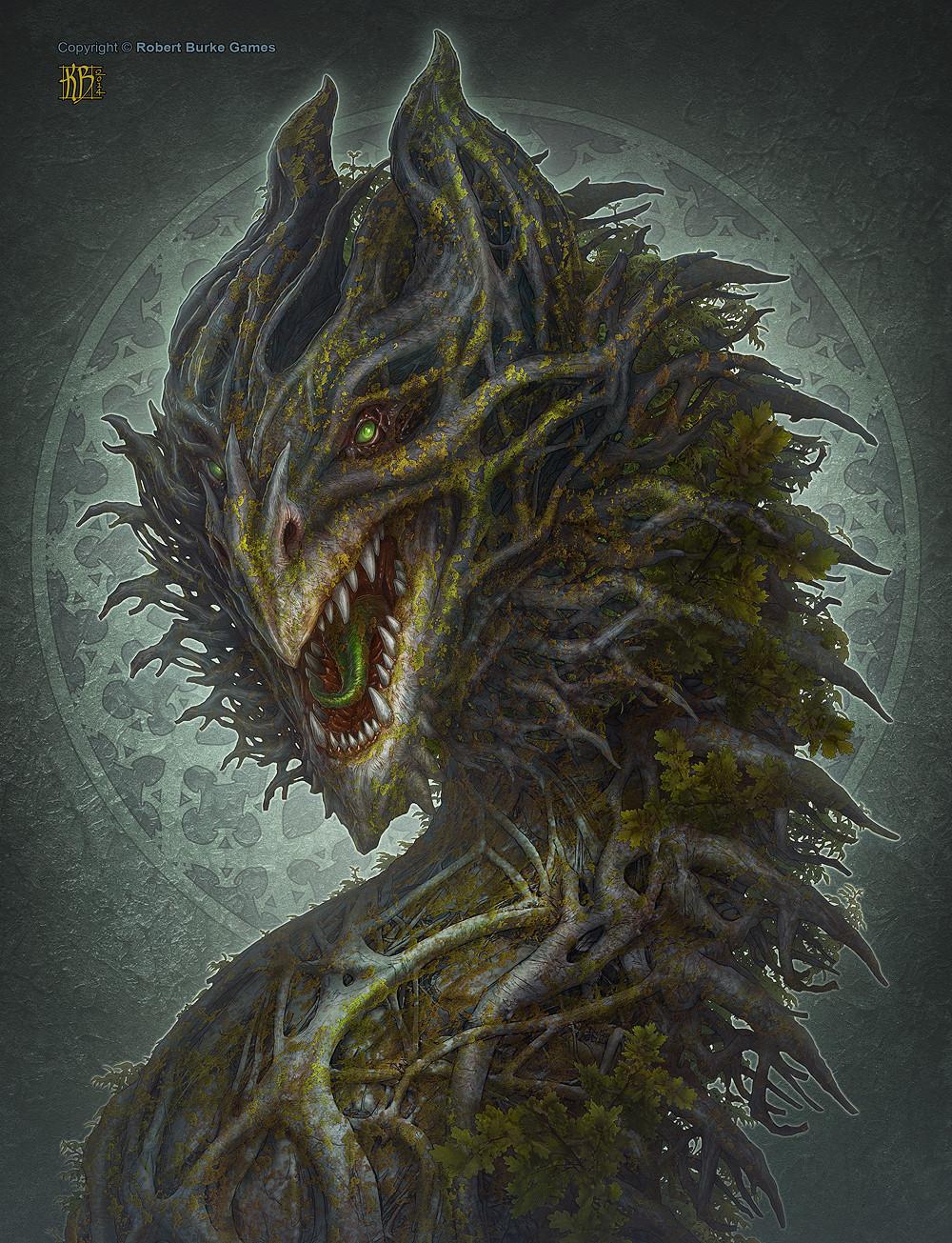 Artstation - Forest Dragon Kerem Beyit