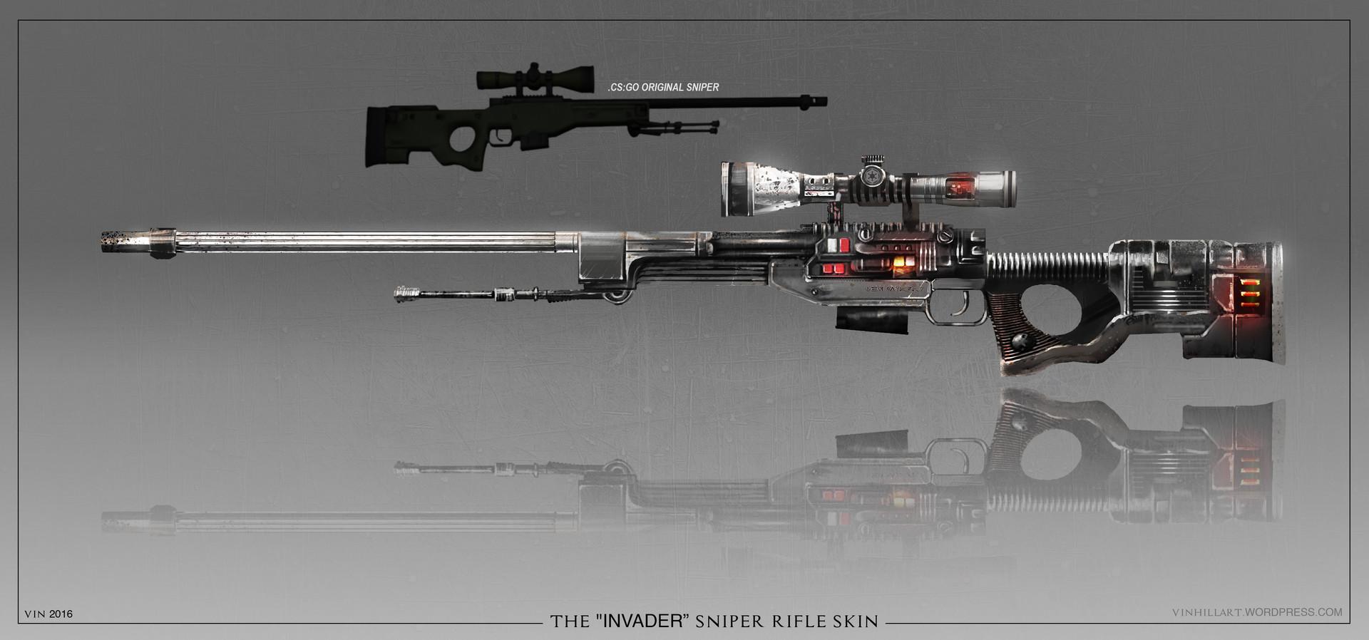 Vin Hill - Cs Awp Sniper Rifle Star Wars Reskin Concept