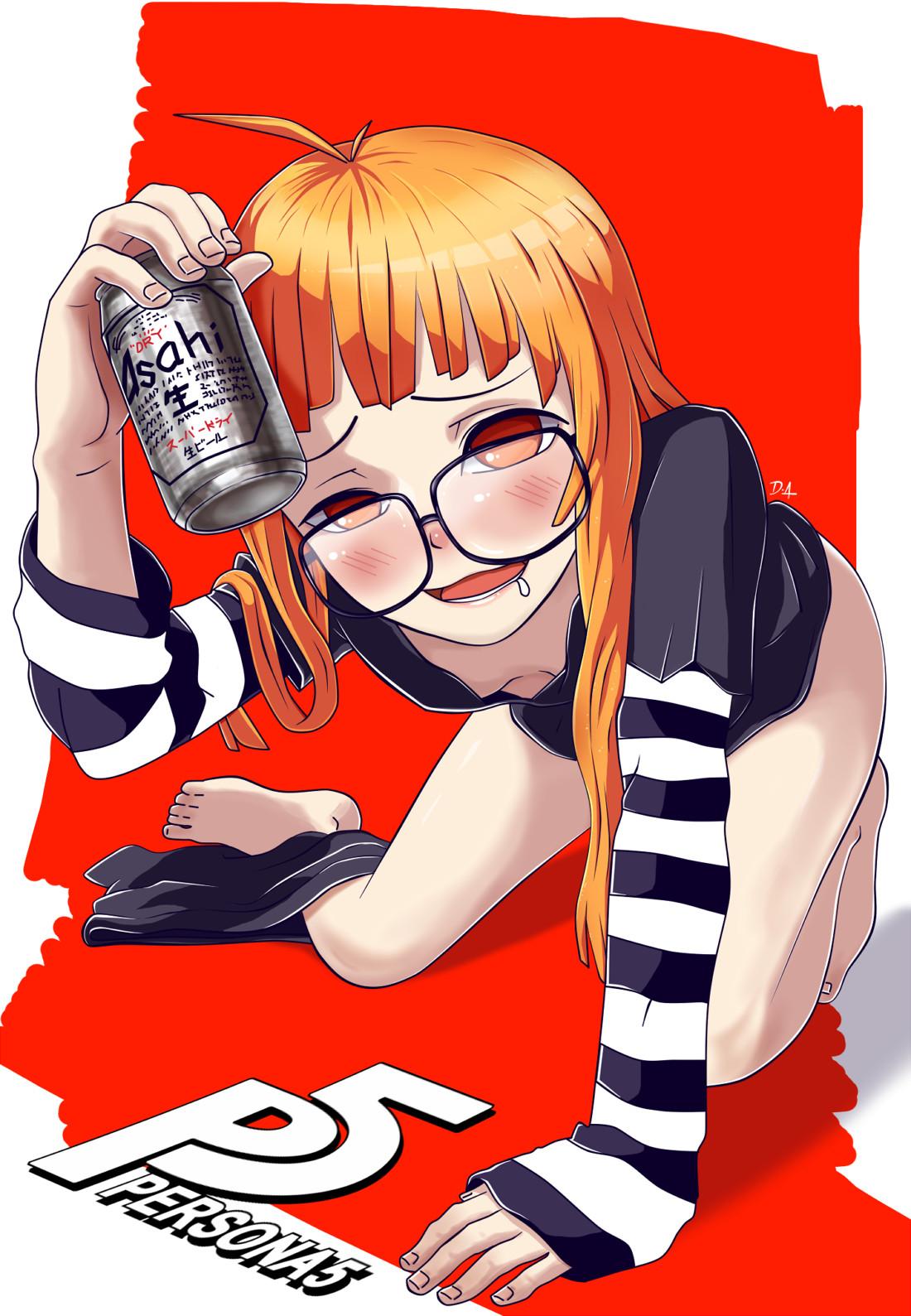 ArtStation  Futaba Sakura  Drunk DON DA
