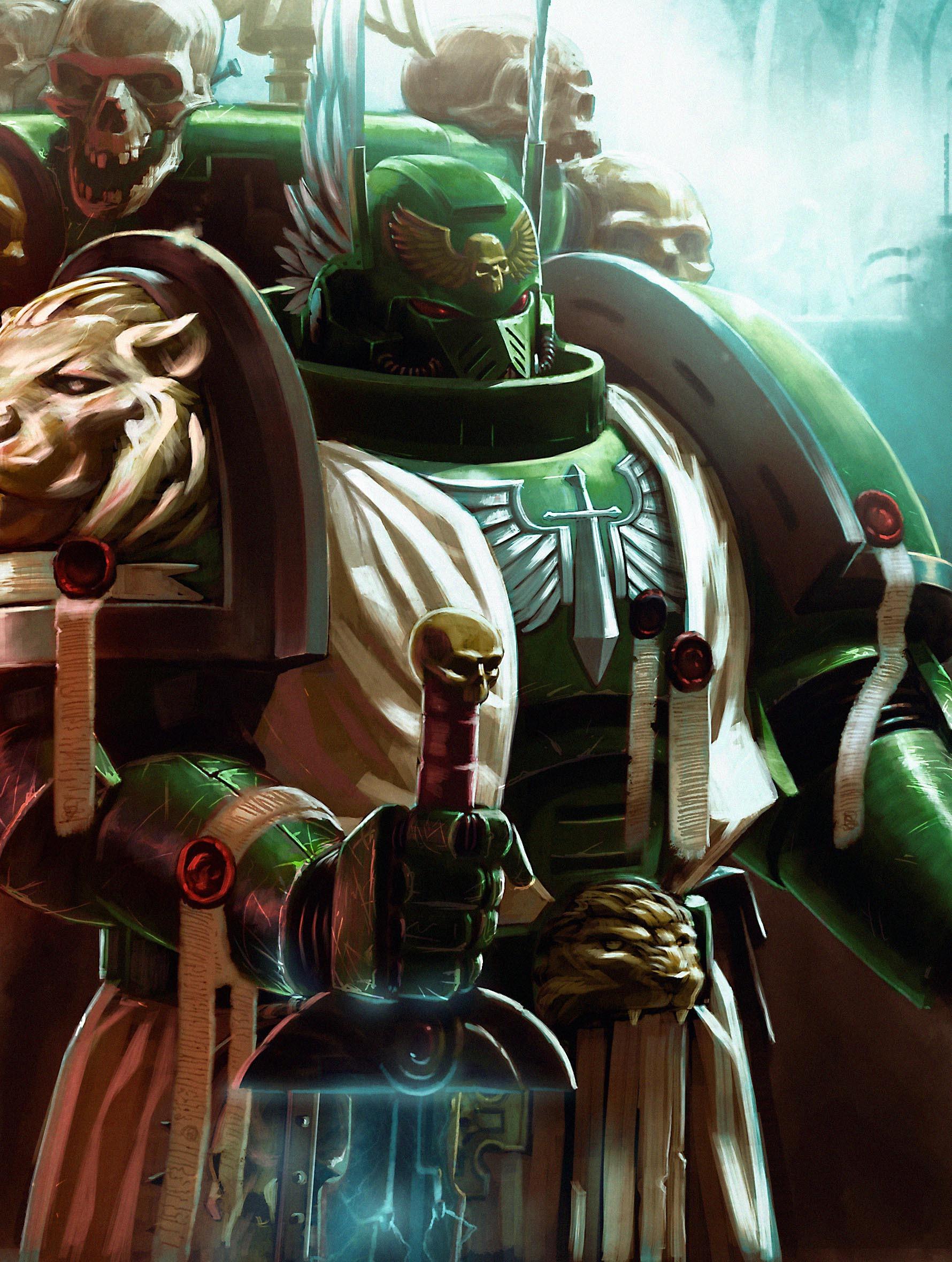 Warhammer 40K Dark Angels Art