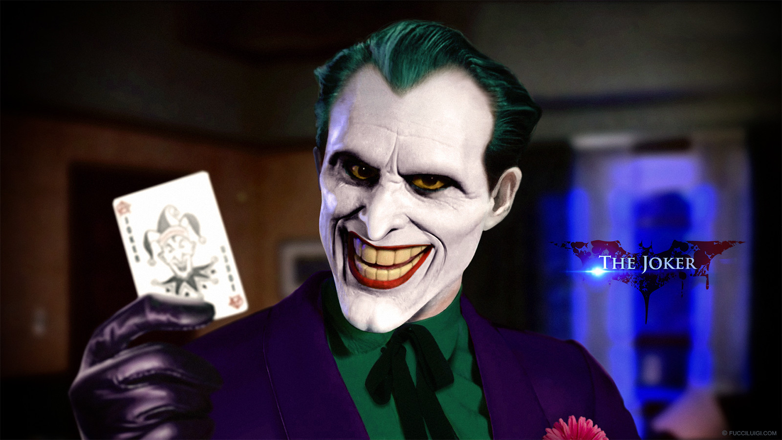 Artstation - Joker Concept Art Fucci Luigi
