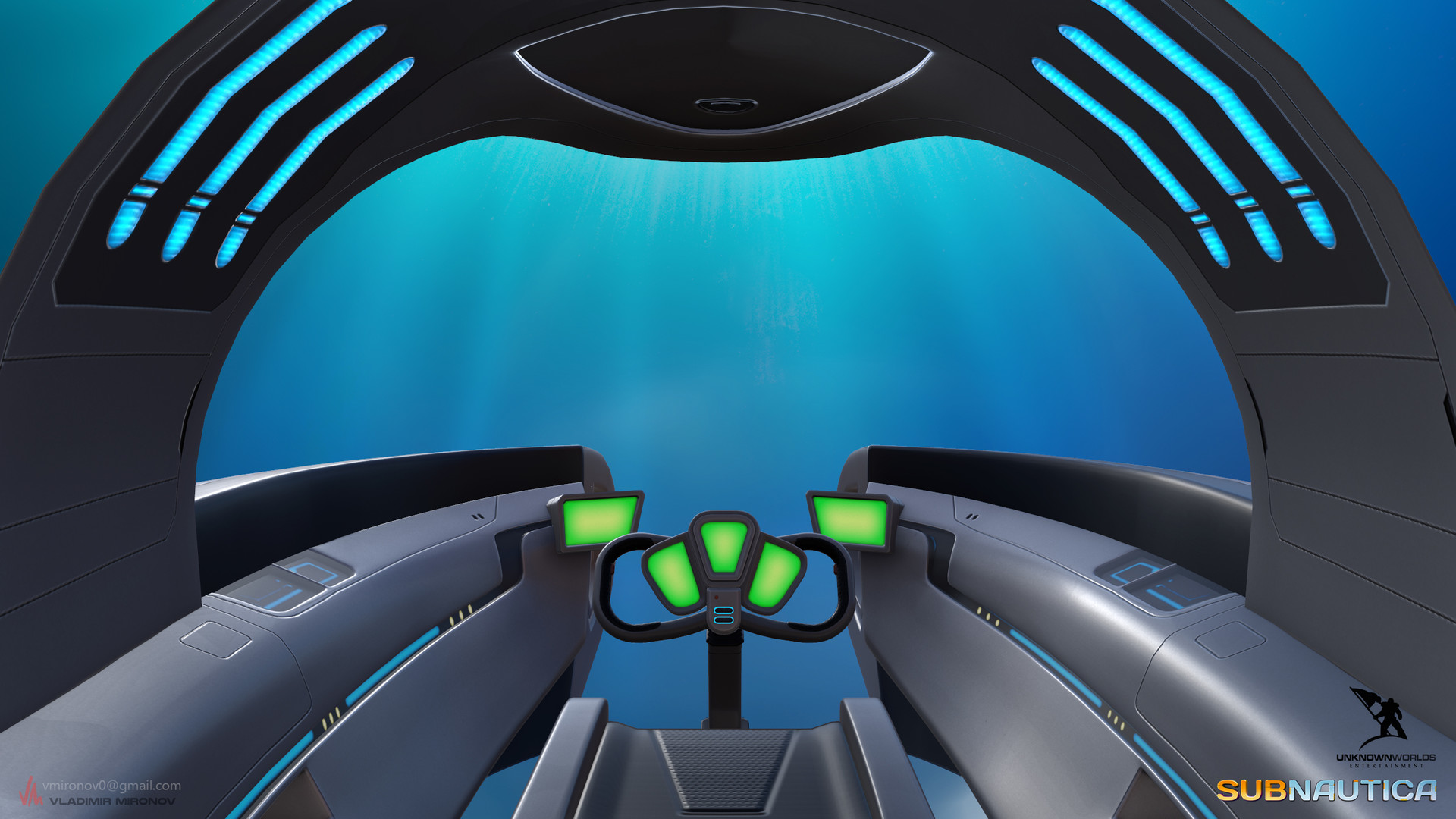 artstation submersible seamoth vladimir