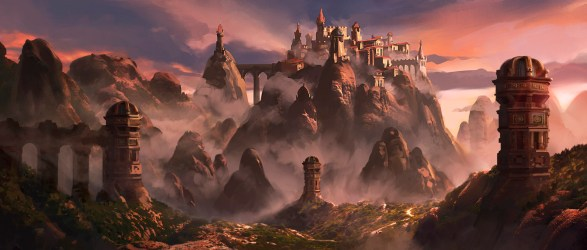 Fantasy City Art
