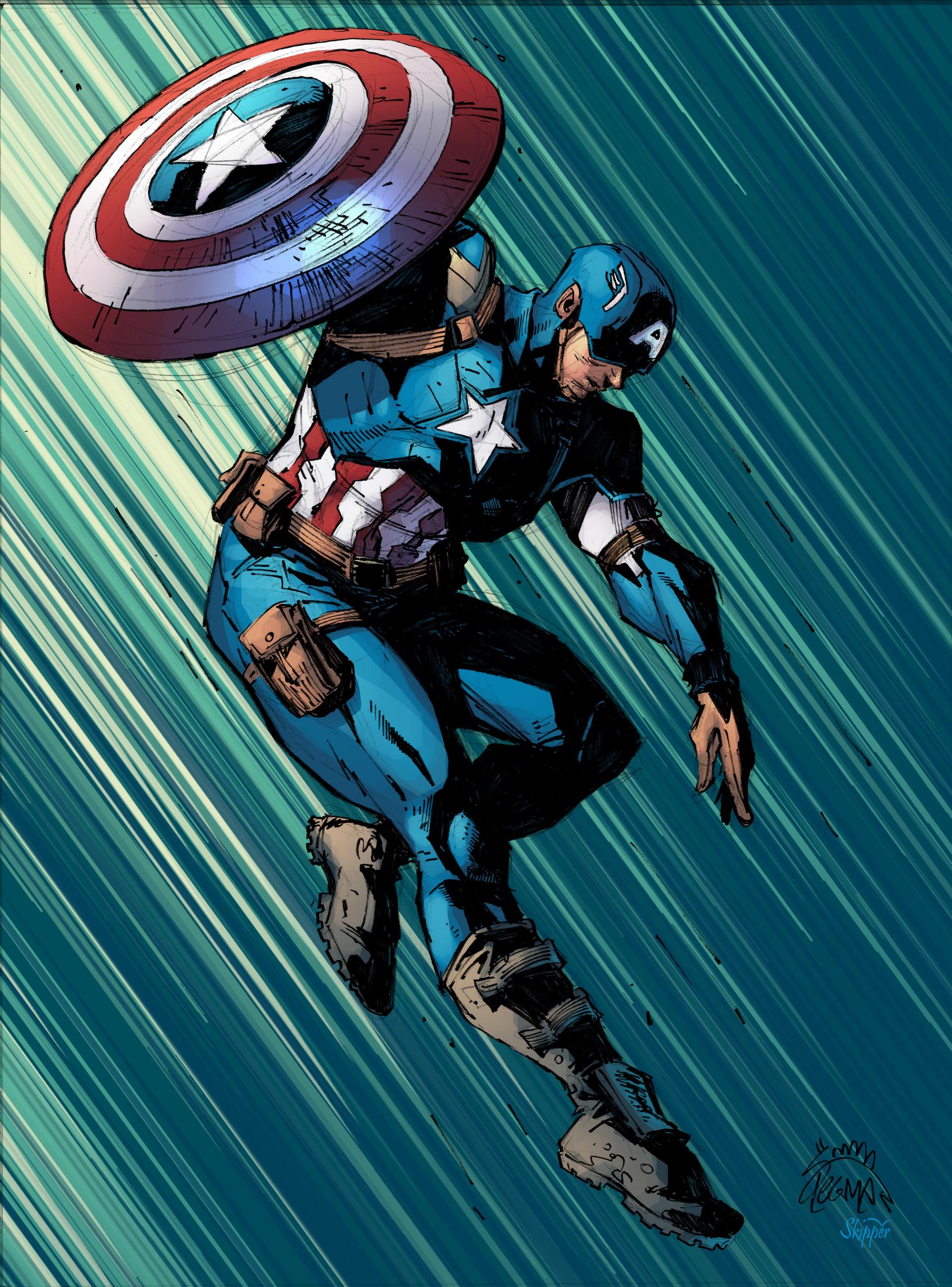 Avengers Captain America Comic