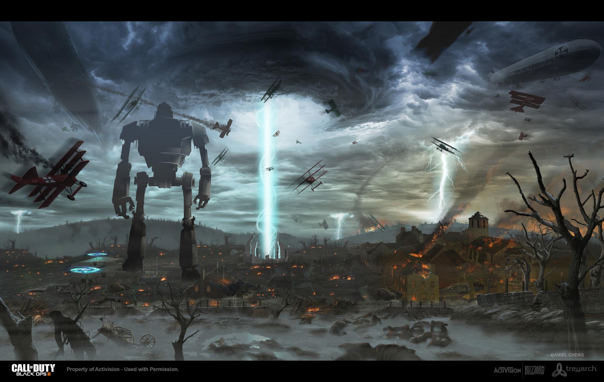 Call of Duty Origins Zombies Concept Arts