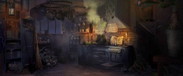 ArtStation Witch s Kitchen Cyndhi S