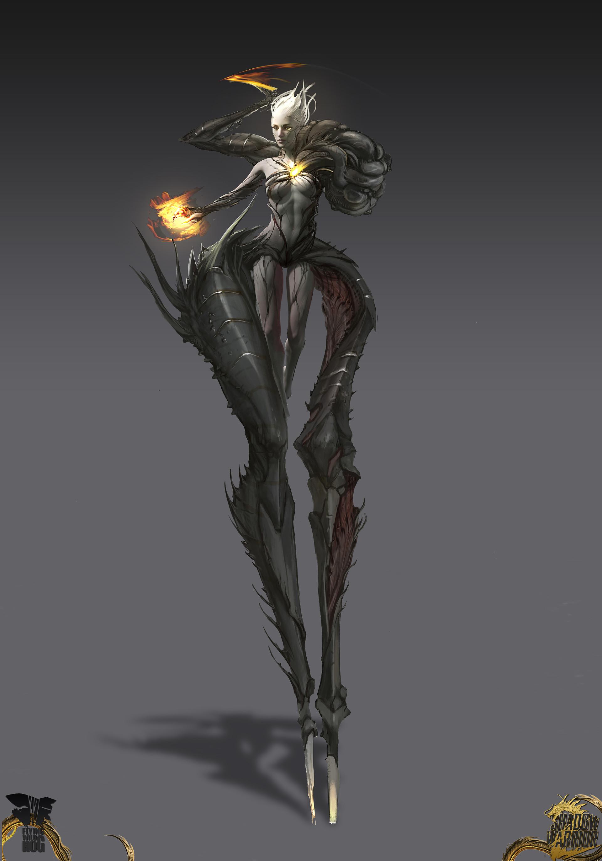 Magdalena Radziej  Shadow Warrior 2 Corrupted Kamiko