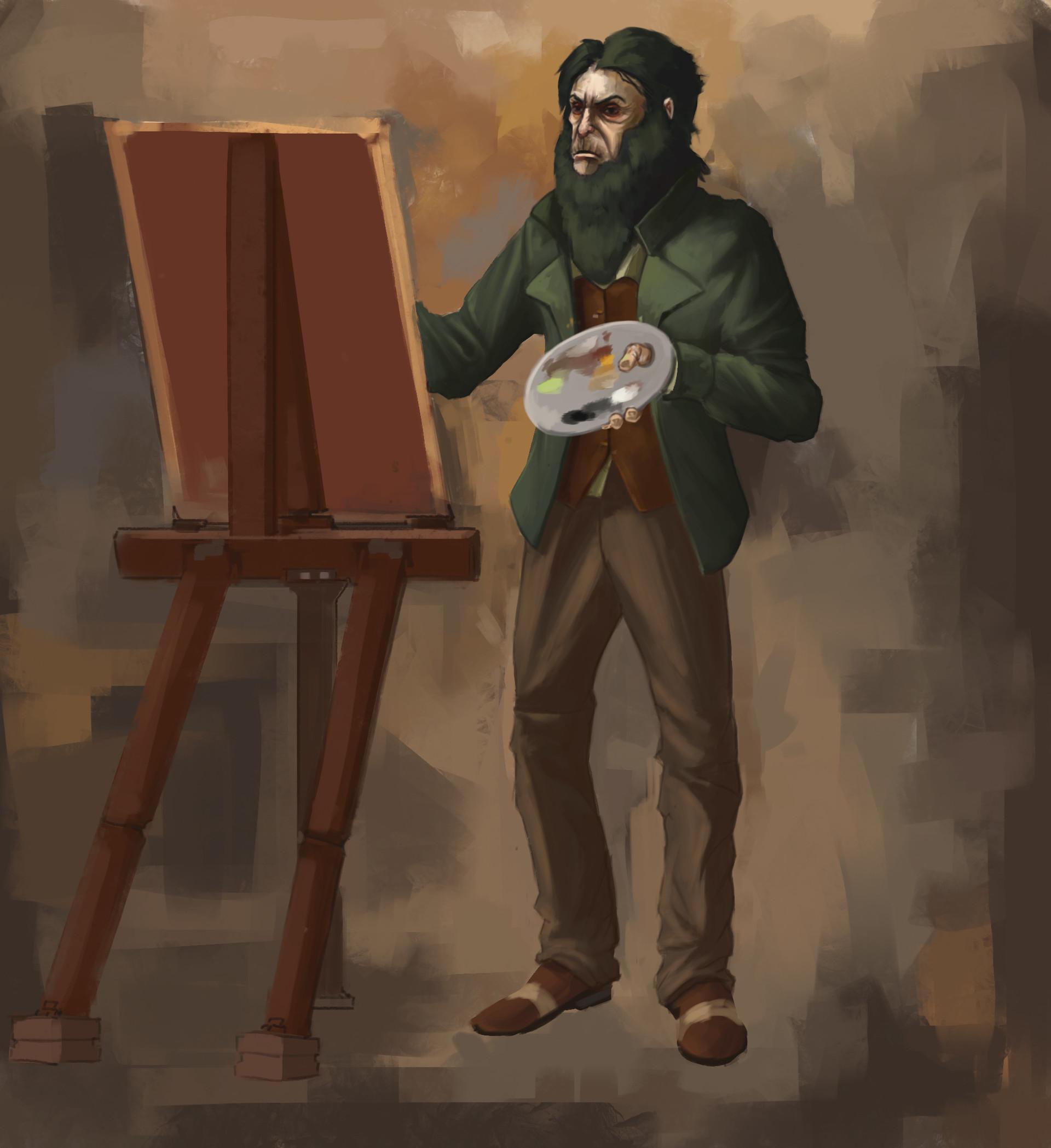 artstation anton sokolov alex
