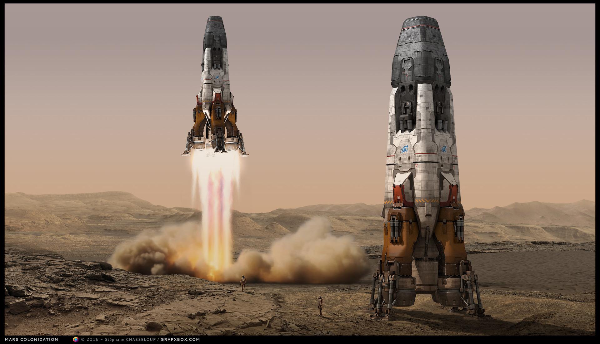 Stephane Chasseloup  MARS Colonization