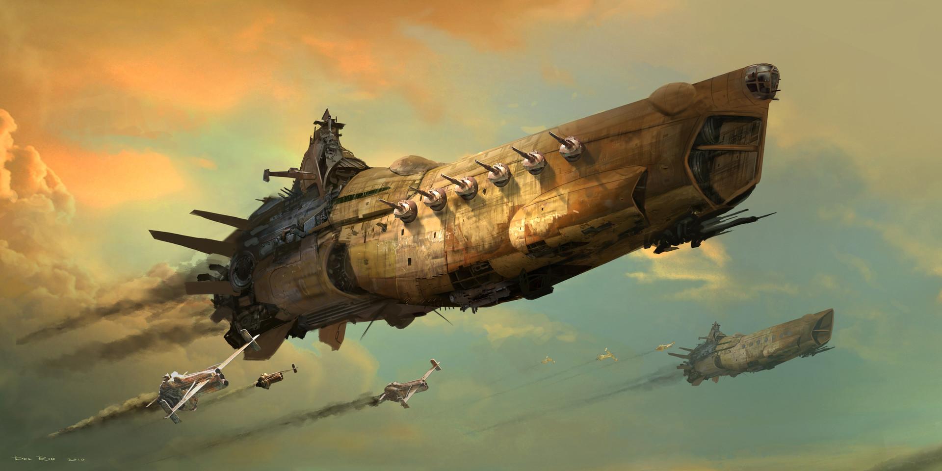 Artstation - Robota Battleship Eddie Del Rio