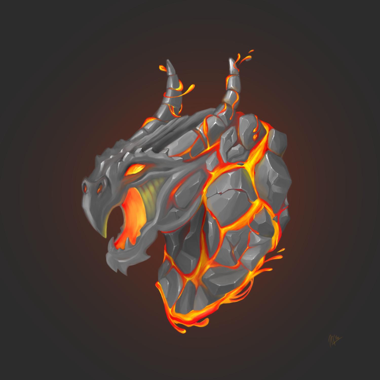 helen podushkina lava dragon