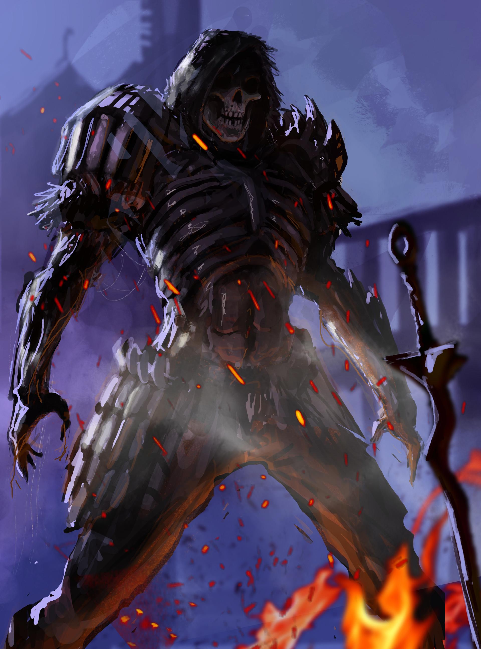 Artstation Dark Wraith Progress Scott Webber