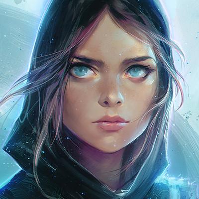 Overwatch Girl Fanart Wallpaper Ross Tran