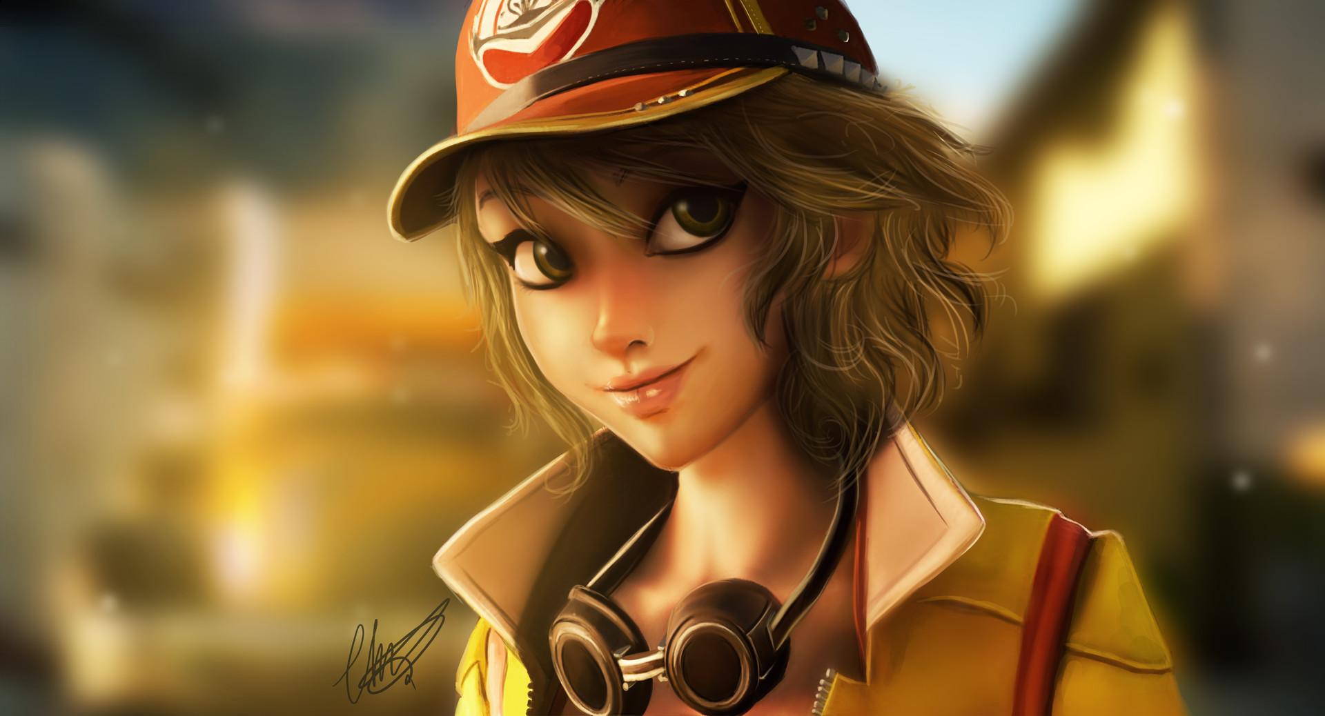 ArtStation Cindy Final Fantasy XV Charlotte Lebreton