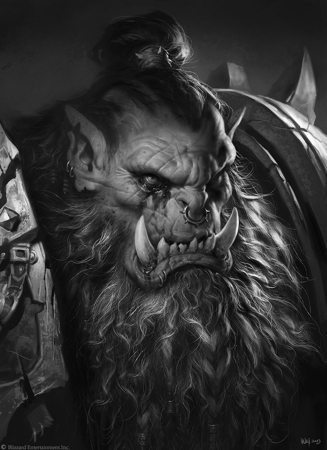 Wei Wang  The Art of Warcraft Film  BlackHand