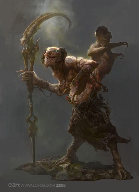 Old Monkey - Fenghua Zhong