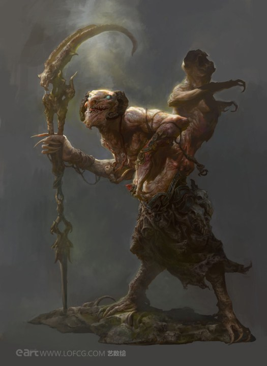 Old Monkey - Fenghua Zhong