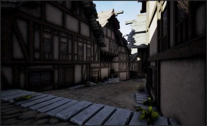 ArtStation Medieval Fantasy Modular Town Christopher Darby