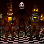 Five Nights At Freddy S 4 Fan Made Nightmare 3d Models By Thomas Honeybell
