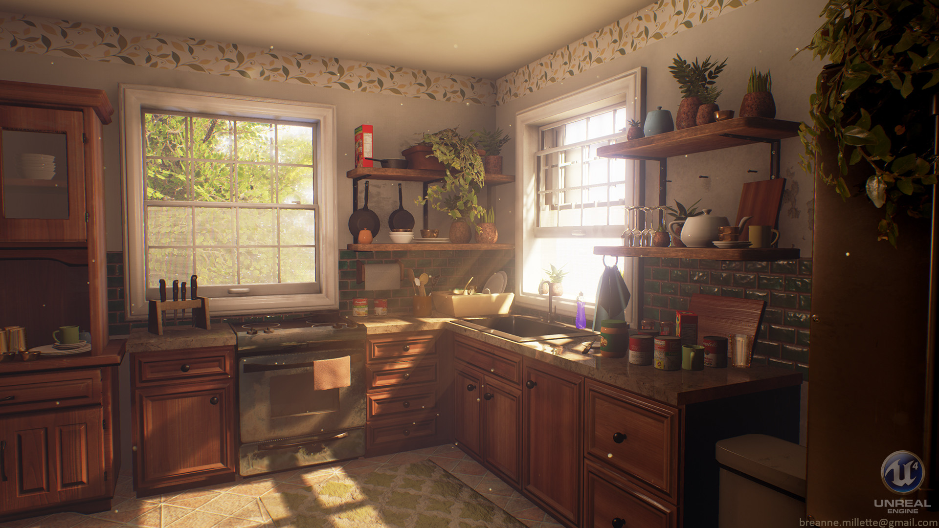 Breanne Millette  Cozy Kitchen