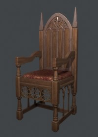 Medieval Throne Chair - Dimarlinperez.com