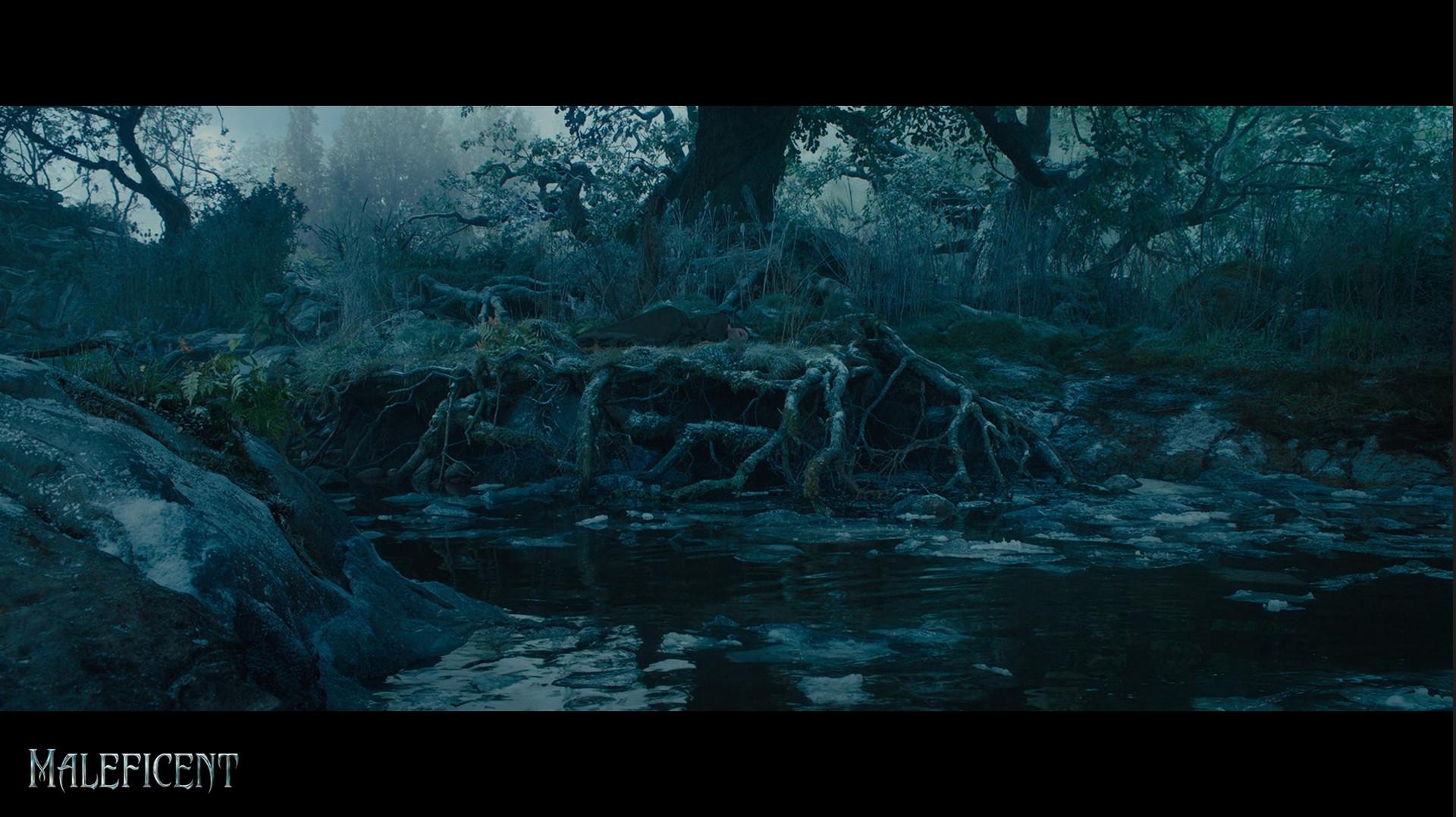Forest Wallpaper Hd Artstation Maleficent Forest Anissa Senoussi Nicastro