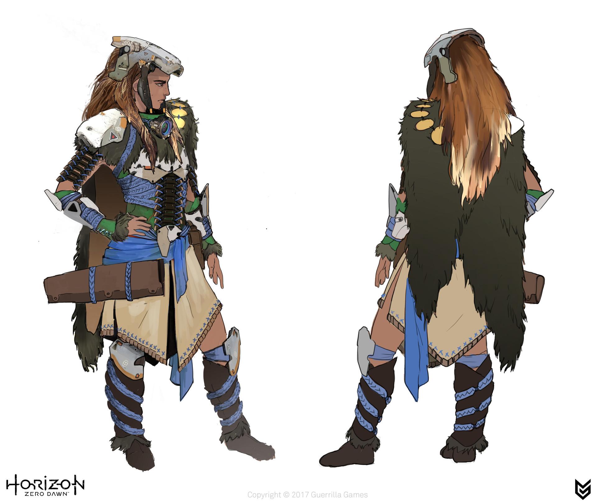luc de haan  Horizon Zero Dawn Aloy Outfits