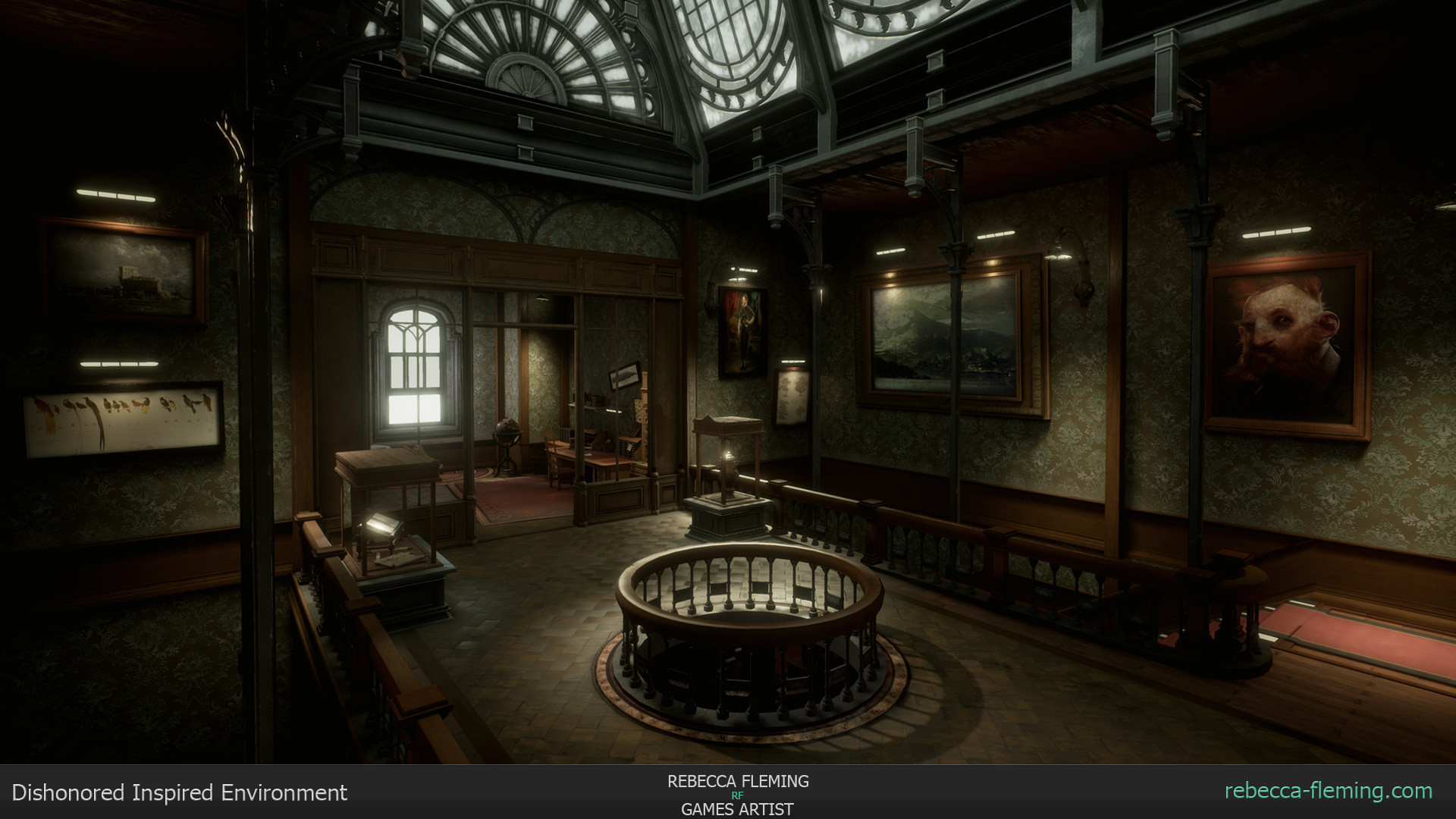 Artstation Dishonored 2 Inspired Environment Rebecca